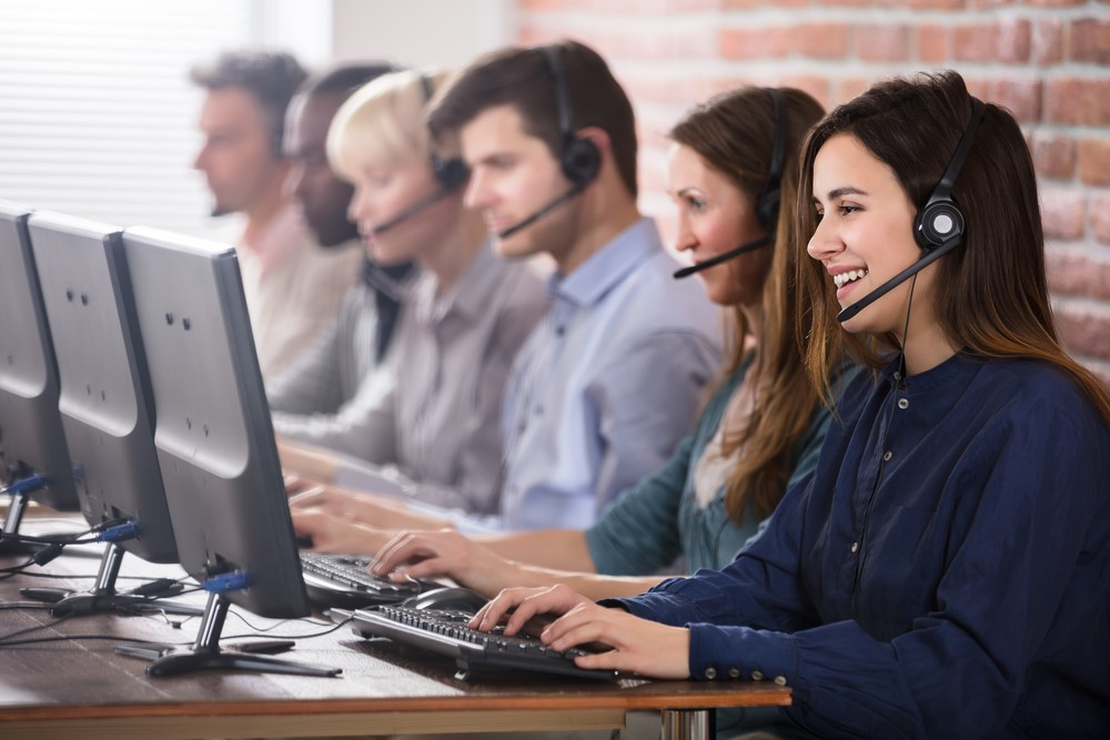 Ad-Hoc IT Support Team Helping Customers
